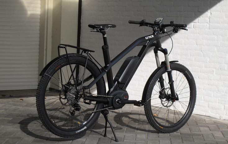 rower elektryczny miejski