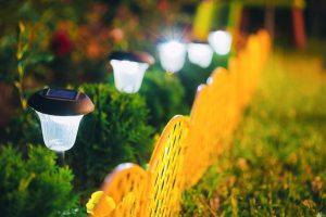 oświetlenie ogrodowe LED